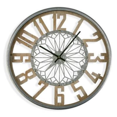 Horloge - Horloge murale, design en solde   La Redoute c1f5ed8b6c5b