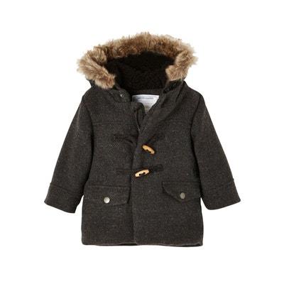 74f3ffaa530b1 Manteau duffle en drap de laine bébé garçon VERTBAUDET