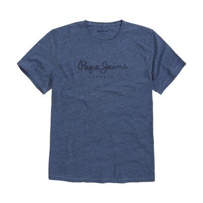 T-shirt Horst Jaspé logo poitrine T-shirt Horst Jaspé logo poitrine PEPE  JEANS f182099e889