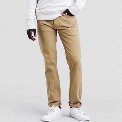 5b9c463a9cb3 Pantalon en toile de coton stretch coupe 511 slim Pantalon en toile de coton  stretch coupe