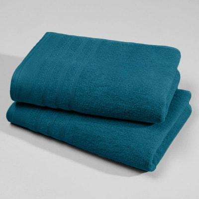 Serviette De Toilette Bleu Canard La Redoute