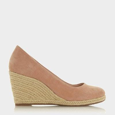 92fa2318a56e4d Chaussures façon espadrille à talons compensés - ANNABELLA Chaussures façon  espadrille à talons compensés - ANNABELLA