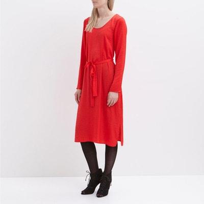 Платье короткое с длинными рукавами Платье короткое с длинными рукавами VILA