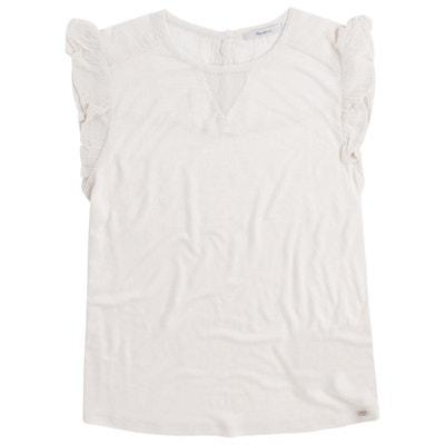22af02fb5a83 Camiseta lisa y sin mangas, con cuello redondo PEPE JEANS