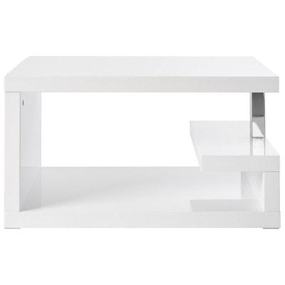 Table Basse Blanche Laque La Redoute