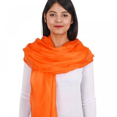 Foulard orange en solde   La Redoute 2d38629856c