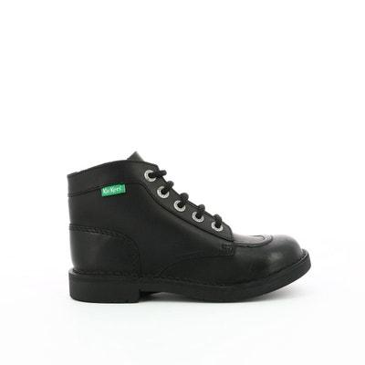 365fd605d3346 Boots cuir Kick col Boots cuir Kick col KICKERS