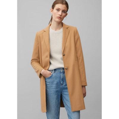 Manteau laine cachemire Arrow   La Redoute