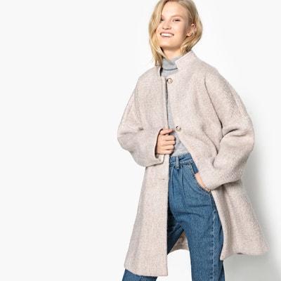 238862dd859a Abrigo oval de mezcla de lana LA REDOUTE COLLECTIONS