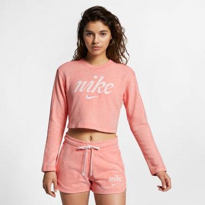 Korte sweater met logo op de borst Korte sweater met logo op de borst NIKE
