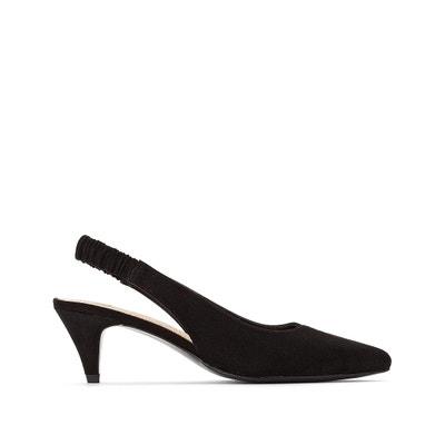 26c5b1a10 Туфли открытые на каблуке с эластичным ремешком Туфли открытые на каблуке с  эластичным ремешком LA REDOUTE