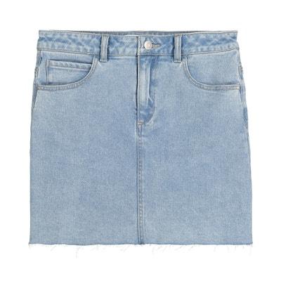 839dbf87d1cda Юбка прямая джинсовая, 10-16 лет Юбка прямая джинсовая, 10-16 лет. (0).  Новая коллекция. LA REDOUTE COLLECTIONS