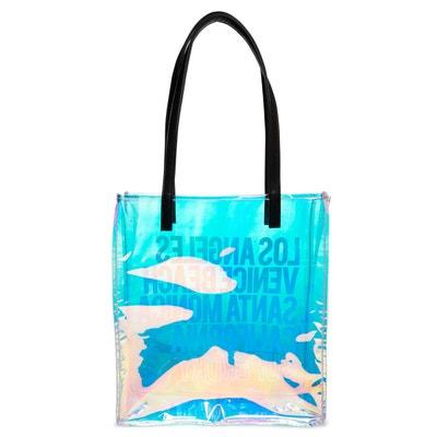 043ad6765d Sac shopping en plastique irisé SUPERDRY