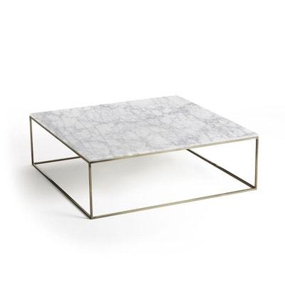 Table basse effet laiton vieilli marbre, Mahaut Table basse effet laiton  vieilli marbre 4a7a35161864