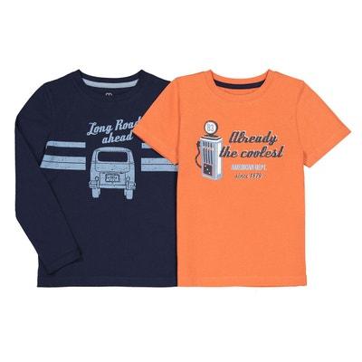 d8b241919ab2e Tee shirt manche longue garçon - Vêtements enfant 3-16 ans en solde ...