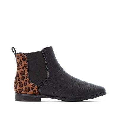 Boots chelsea arrière léopard Boots chelsea arrière léopard LA REDOUTE COLLECTIONS PLUS