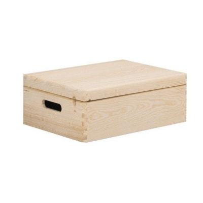 Boite de rangement en carton avec couvercle | La Redoute