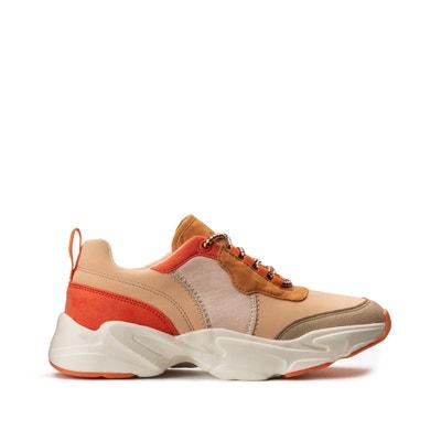 Driekleurige sneakers met dikke zool Driekleurige sneakers met dikke zool LA REDOUTE COLLECTIONS