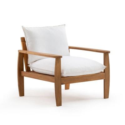 Fauteuil de jardin blanc | La Redoute