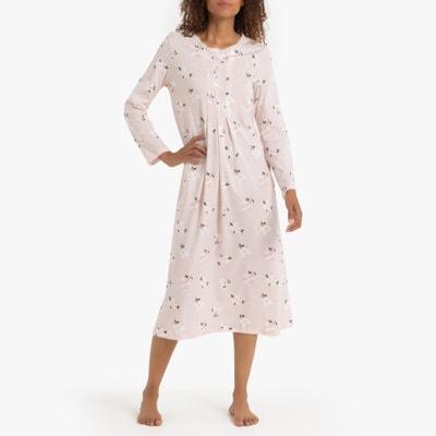 1f2ab044b50e Ночная рубашка с цветочным принтом с длинныеми рукавами LA REDOUTE  COLLECTIONS. (0). Новая коллекция