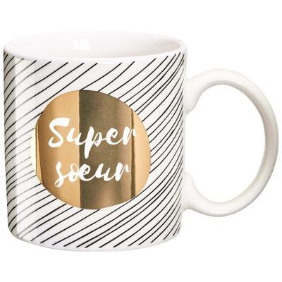 Mug cadeau Super soeur Mug cadeau Super soeur DRAEGER LA CARTERIE 06b3daa83a4