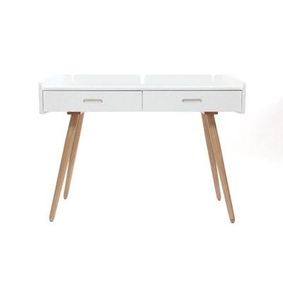 Superieur Bureau Design Frêne Blanc NEVIL Bureau Design Frêne Blanc NEVIL MILIBOO