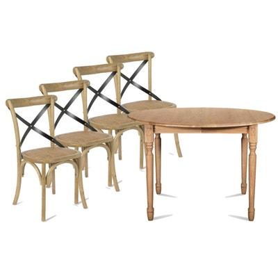 Table de cuisine ronde avec chaises | La Redoute