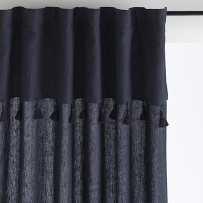 rideau gris la redoute. Black Bedroom Furniture Sets. Home Design Ideas