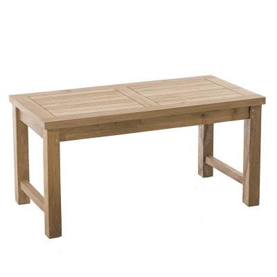 Table de jardin bois massif | La Redoute