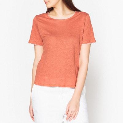 491fdd1a645 Tee shirt en lin Tee shirt en lin MARIE SIXTINE