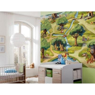 Papier Peint Winnie Et La Foret Des Rêves Bleus Disney 254X184 CM Papier  Peint Winnie Et. WINNIE Lu0027OURSON