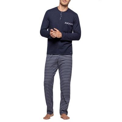 6dedb8eb5224 Pyjama homme long en coton Touriga IMPETUS