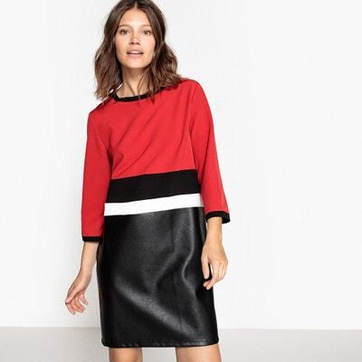 f19c6411123 Платье прямого покроя с рукавами 3 4 Платье прямого покроя с рукавами 3 4
