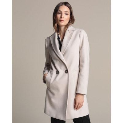 code promo eda63 2504a Manteau long blanc | La Redoute