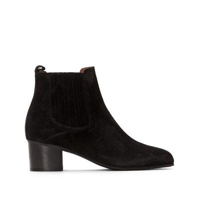 Boots cuir à bride vivian noir Jonak | La Redoute