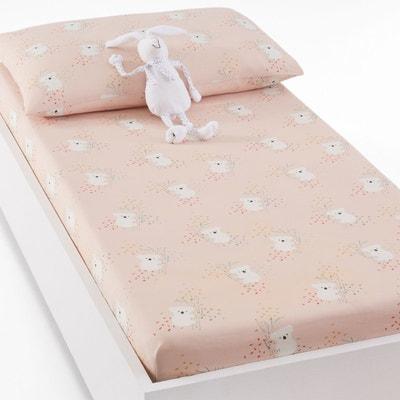 blanc 34 x 75/cm Drap-housse pour lit de b/éb/é