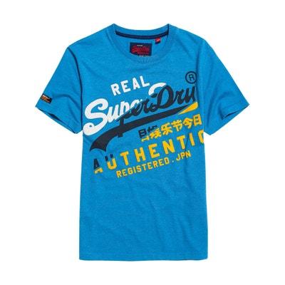34523f19 Vintage Authentic Tri Crew Neck T-Shirt SUPERDRY
