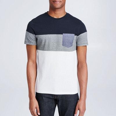 42b44bb3d01 Tee shirt manches courtes poche chambray Tee shirt manches courtes poche  chambray JULES