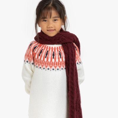 Trui-jurk met lange mouwen jacquard 3-12 jaar Trui-jurk met lange mouwen jacquard 3-12 jaar LA REDOUTE COLLECTIONS