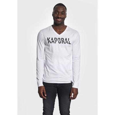 Tee shirt manche longue homme en solde KAPORAL | La Redoute