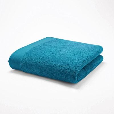Drap de Plage//Bain Bleu Plumes Tr/ès absorbante 100/% Coton Haute qualit/é 86x160cm Toucher Velours
