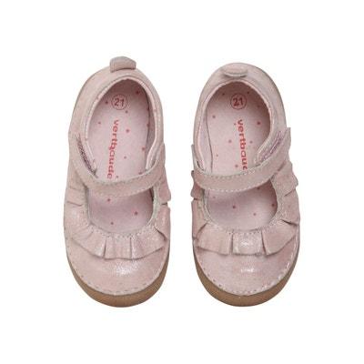 chaussures de séparation 4cbd2 c1cfe Chausson en cuir enfant | La Redoute