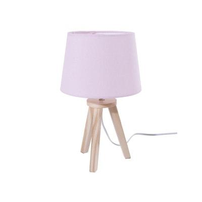 lampe de chevet bois la redoute. Black Bedroom Furniture Sets. Home Design Ideas
