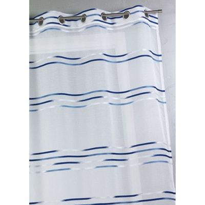 rideau bleu marine la redoute