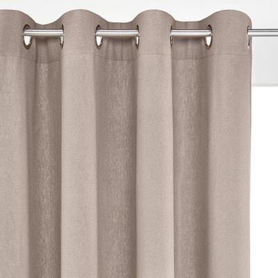 f0c9d86950f Cortina de lino algodón con ojales