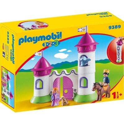 PLAYMOBIL 9389 1.2.3   Château De Princesse Avec Tours Empilables PLAYMOBIL  9389 1.2.