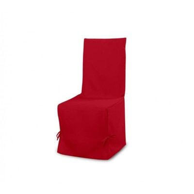 Housse Chaise Rouge PANAMA TERRE DE NUIT