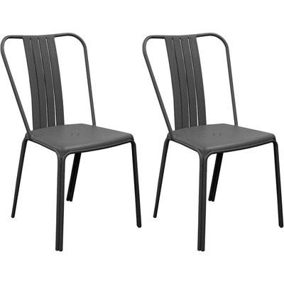 Salon de jardin - Table, chaises Proloisirs en solde   La Redoute