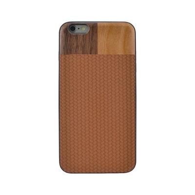 Coque pour Apple iPhone 6 Plus et 6s Plus Marron et bois Noyer et cerisier  Coque a1a2023fe99