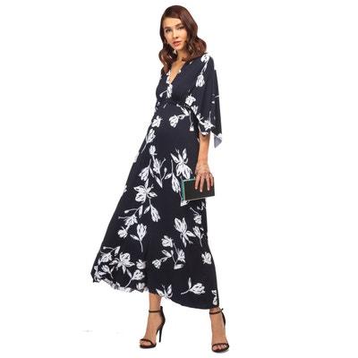 64c0426c1ee5a Veronica maxi robe de grossesse imprimé à manches kimono PIETRO BRUNELLI  MATERNITY